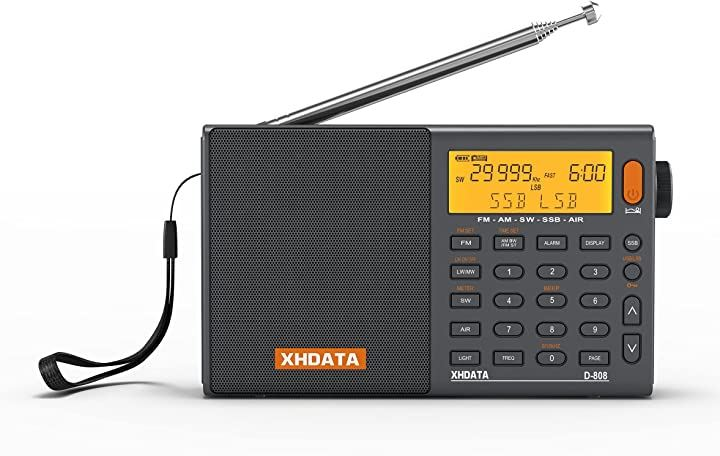 D-808 SSB BCLラジオ FM AM 短波 長波 高感度 ポータブルラジオ(D-808)