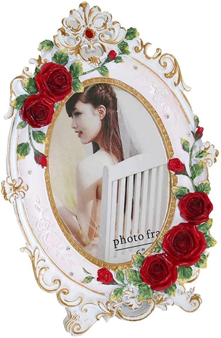 フォトフレーム 木製 写真立て おしゃれ フォトスタンド 写真縦 PF012(Aタイプ・大)