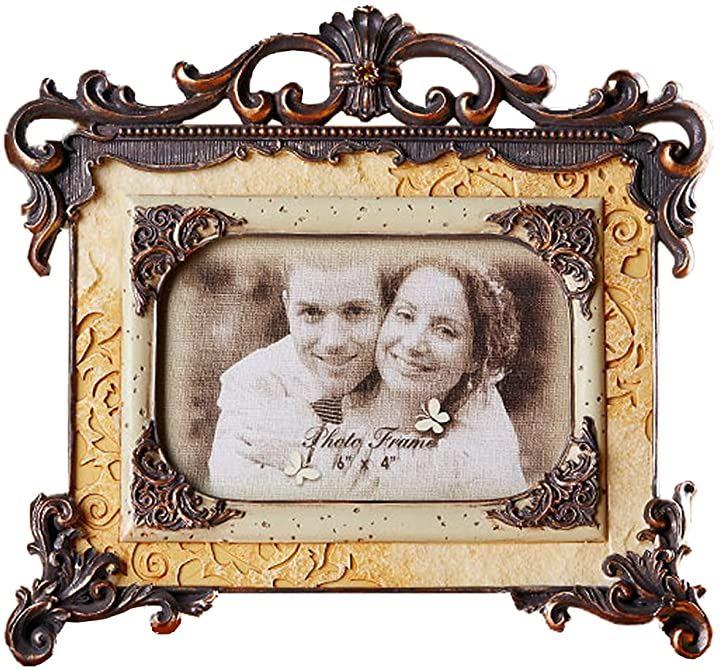 フォトフレーム 木製 写真立て おしゃれ フォトスタンド 写真縦 PF013(横タイプ)
