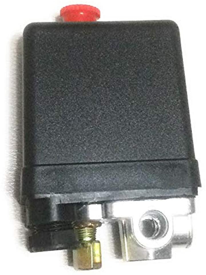 エアー コンプレッサー 圧力スイッチ プレッシャースイッチ 4ポート 修理 交換用