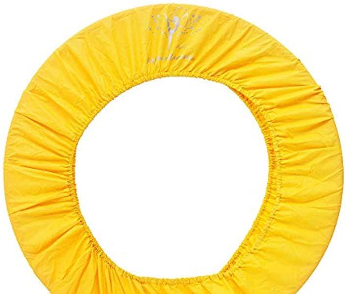 [モーリートレード] フープ カバー ナイロン 製 シンプル 軽量 保管 持ち運び 新体操 フラフープ(イエロー)