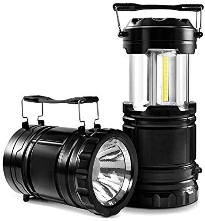 非常用ライト ランタン 高輝度 LED 電池式 災害グッズ 2WAY 2個セット