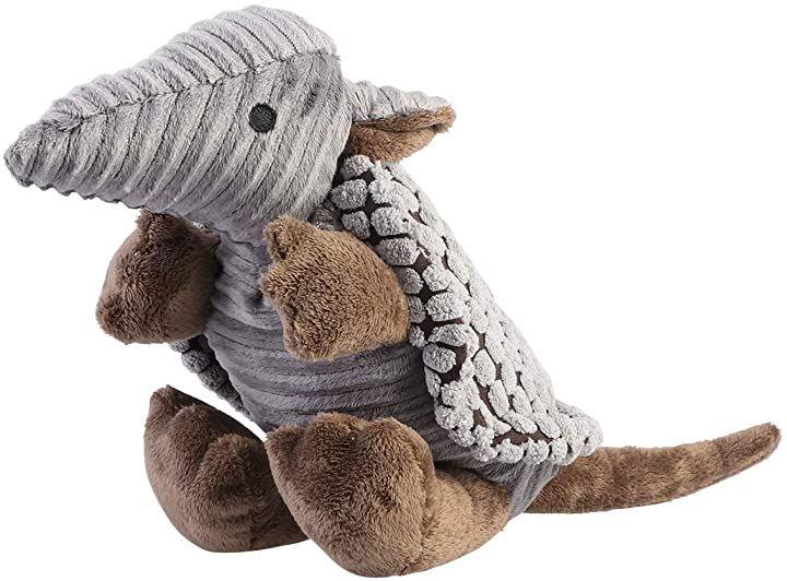 犬 おもちゃ ぬいぐるみ 噛む 丈夫 音 アルマジロ ストレス解消 運動不足 ペットおもちゃ
