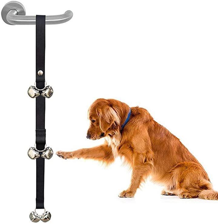 犬 トレーニングベル しつけ用品 6個ベル 呼び鈴 ペット用品