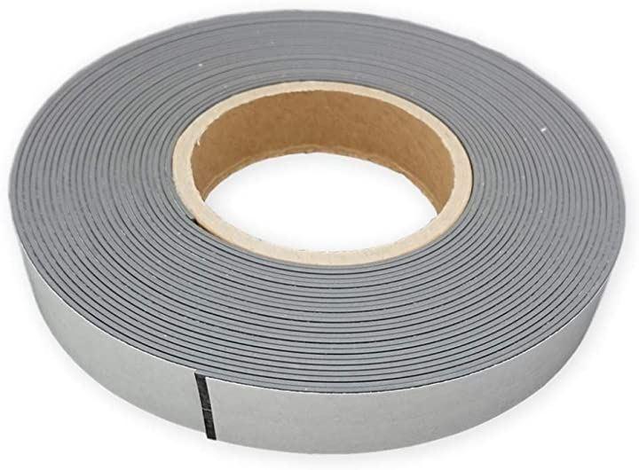マグネットテープ ソフトマグネットシート 磁気テープ 強力固定可 冷蔵庫メモ 工具 道具 10mx25mmx1.5mm(黒)
