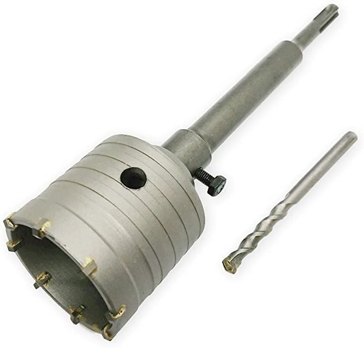 ホルソー コアドリル コンクリート 65mm 壁用 回転振動 先端工具