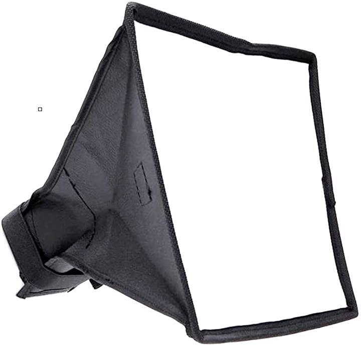 ソフトボックス ディフューザー カメラ 折りたたみ式 ストロボ ケース付き 15cm×17cm