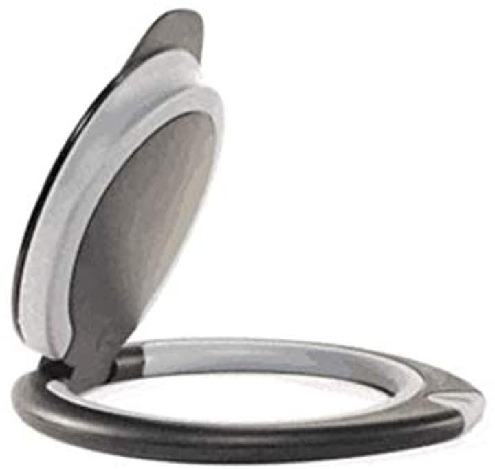 Handle Plus タブレット スタンド 持ち手 壁掛け 折りたたみ 超軽量 i pad ipad pro ソフトタッチタイプ グレー