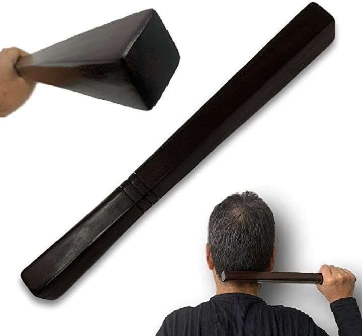 仙人棒延髄たたき 不思議なほど効くタイの仙人棒 肩たたき棒使用説明書付き