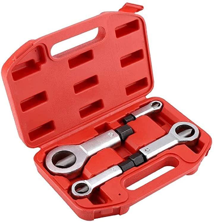 ナットカッター ナットブレーカー ナットスプリッター ナットスプリットツール 取り外し 工具 修理用品 4本セット 9-27mm