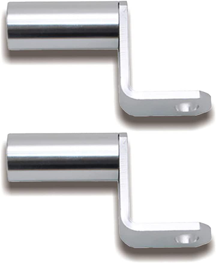 クランプ バー マルチ ホルダー ミラー タイプ ハンドル ポスト アダプター(銀, Small)