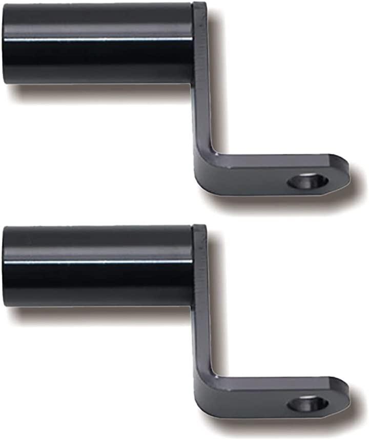 クランプ バー マルチ ホルダー ミラー タイプ ハンドル ポスト アダプター(黒)