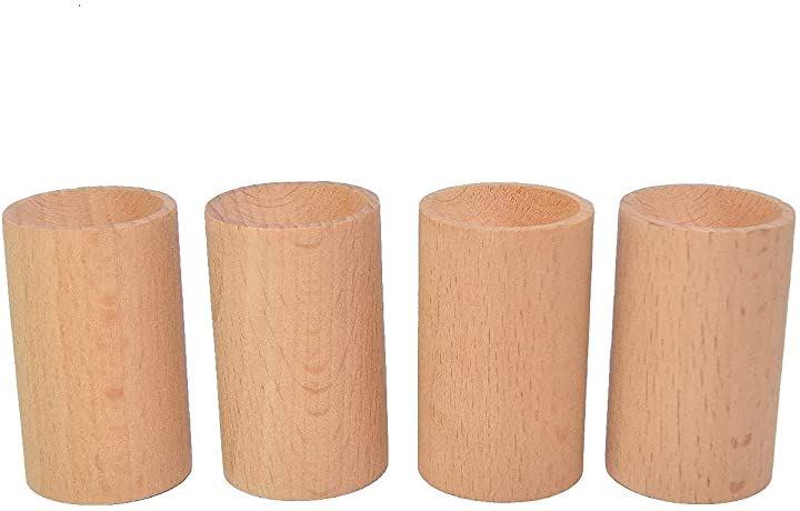 アロマディッシュ 木製 アロマディフューザー 無垢 アロマディフューザー木目 4個セット