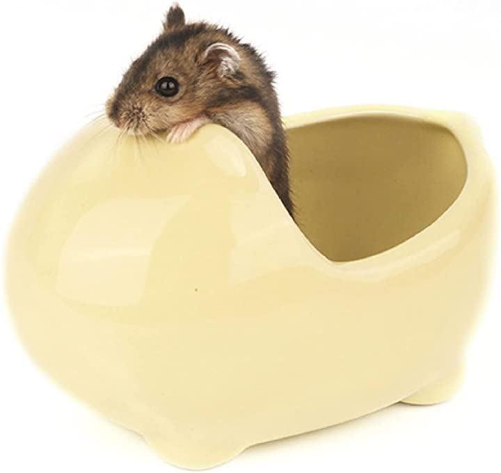 ハムスター ハウス トイレ 浴槽型 陶器 ジャンガリアン ハリネズミ リス 小動物 砂遊び 隠れ家 寝床 日陰 日よけ 涼感 暑さ対策